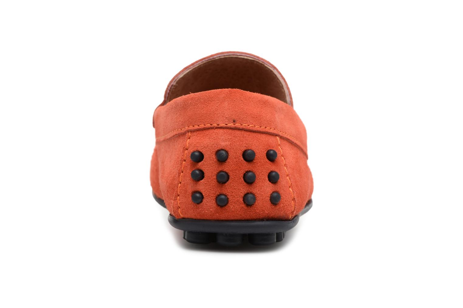 Loafers Marvin&co Suttino Orange view from the right