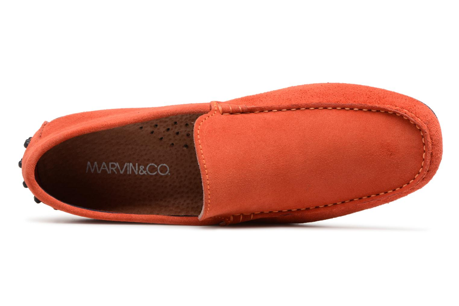 Loafers Marvin&co Suttino Orange view from the left
