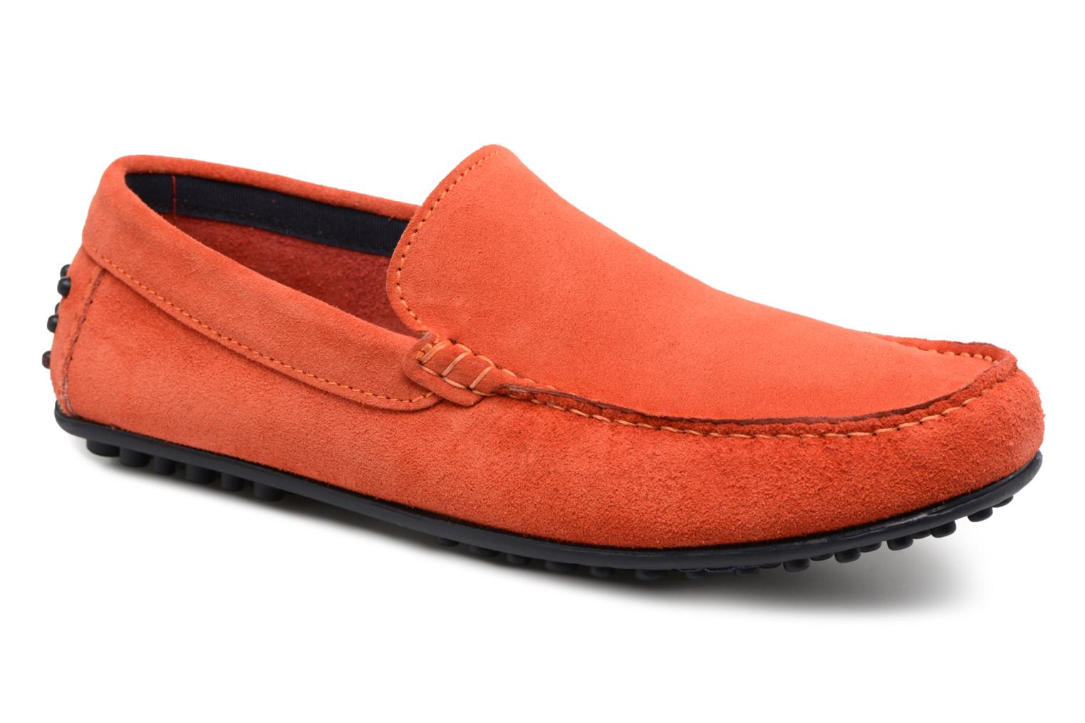 Loafers Marvin&co Suttino Orange detailed view/ Pair view