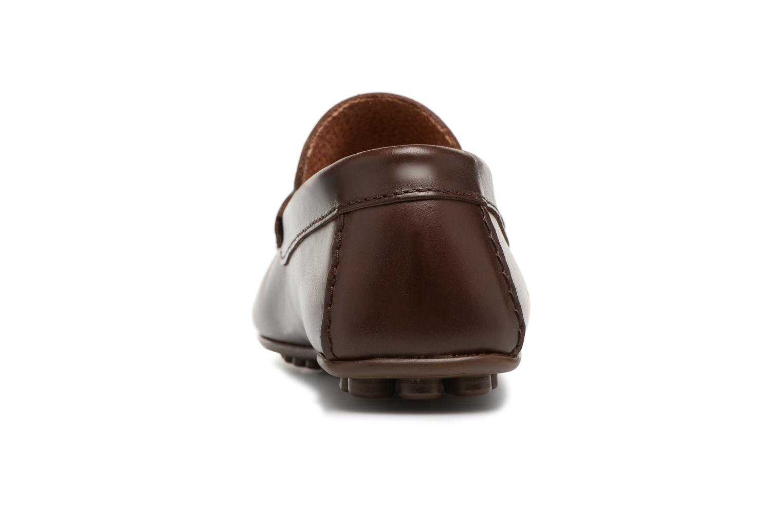 Mocassins Marvin&Co Slowlife Marron vue droite