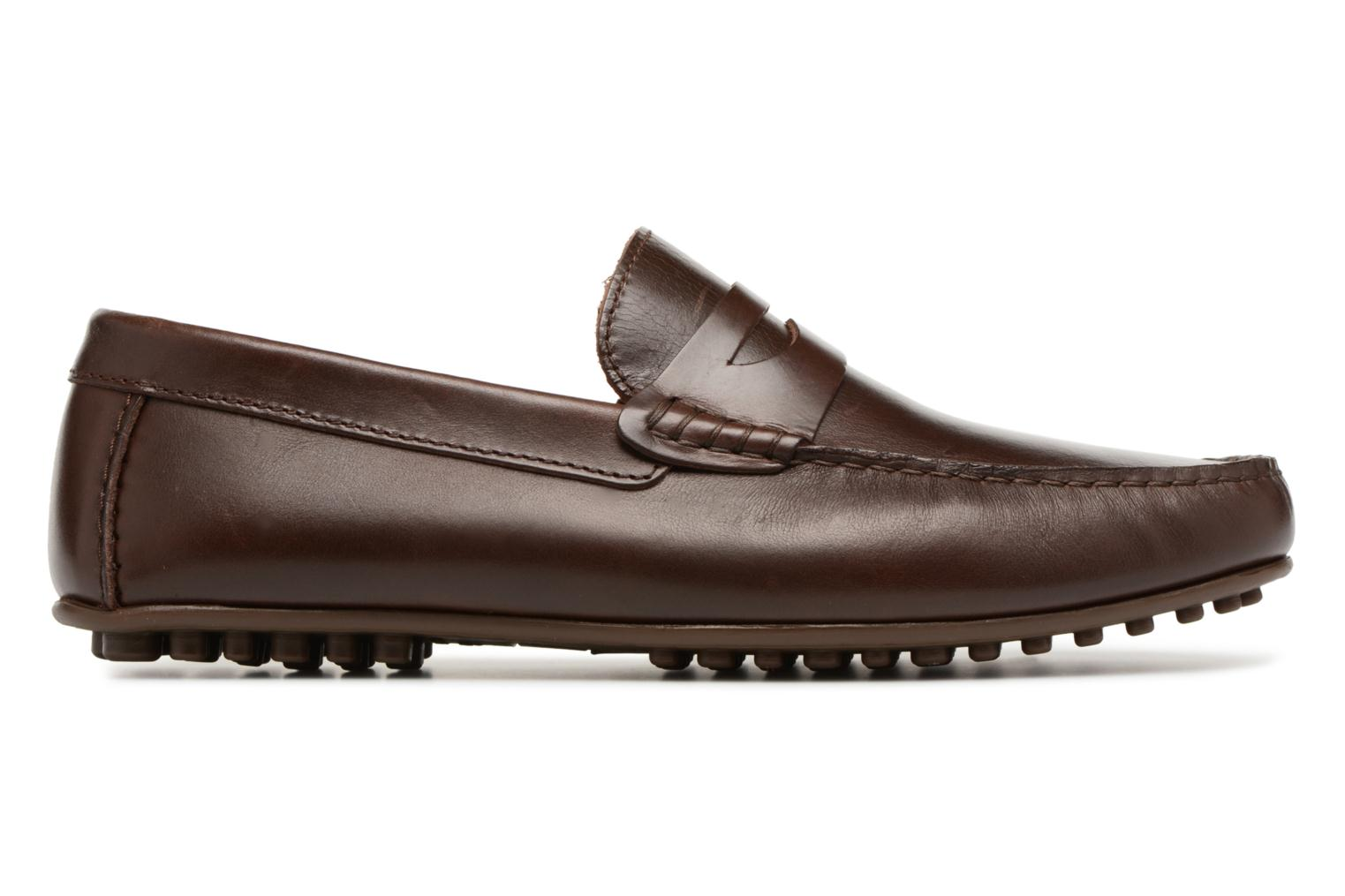 Mocassins Marvin&Co Slowlife Marron vue derrière