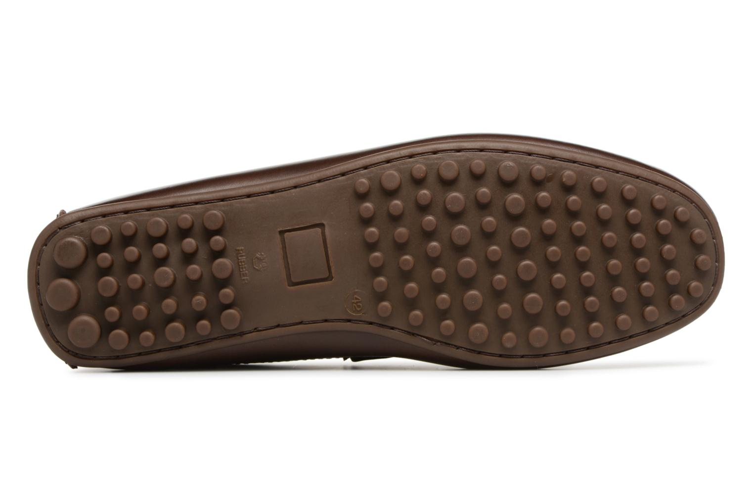 Mocassins Marvin&Co Slowlife Marron vue haut