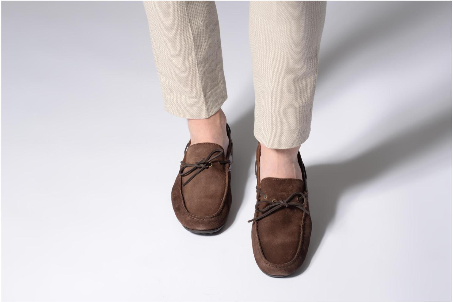 Loafers Marvin&co Stanford Brown view from underneath / model view