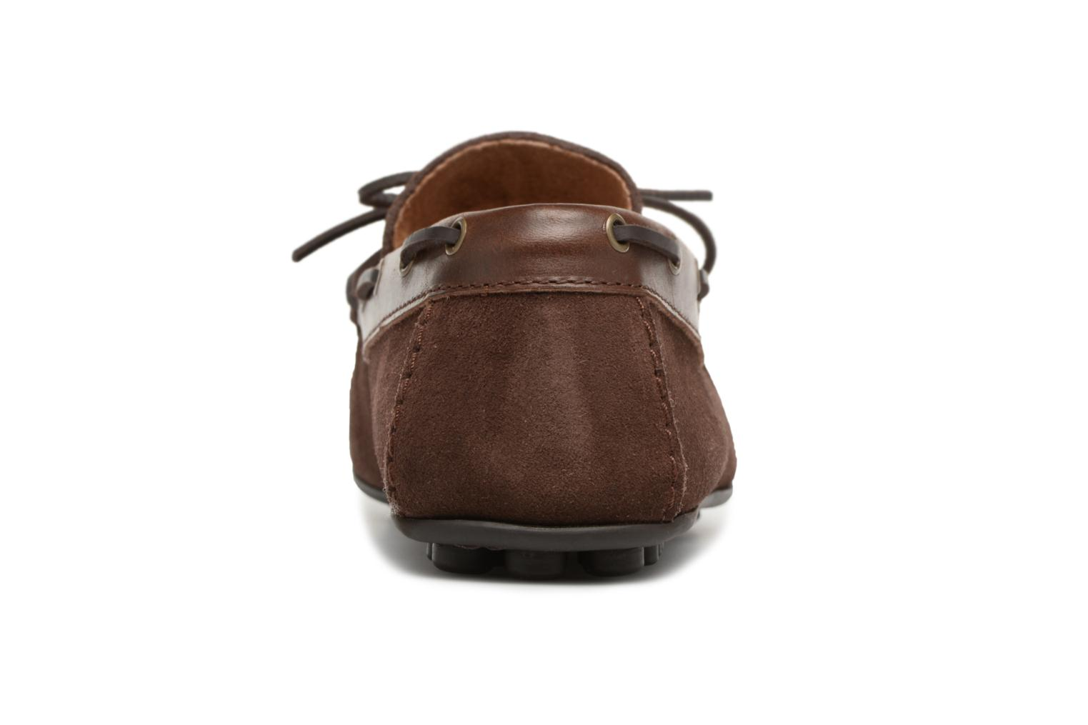 Loafers Marvin&co Stanford Brown view from the right