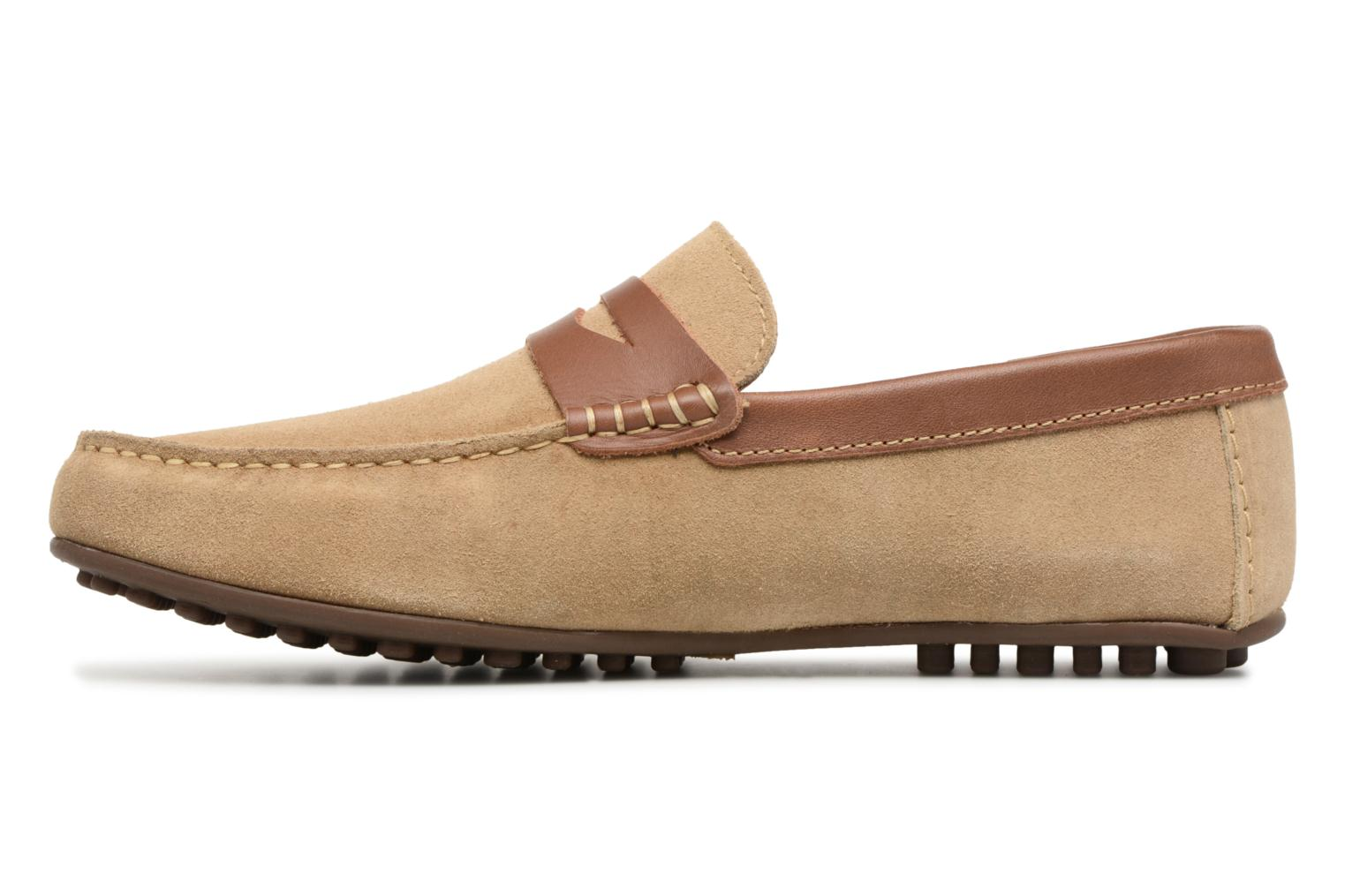 Loafers Marvin&co Scotland Beige front view