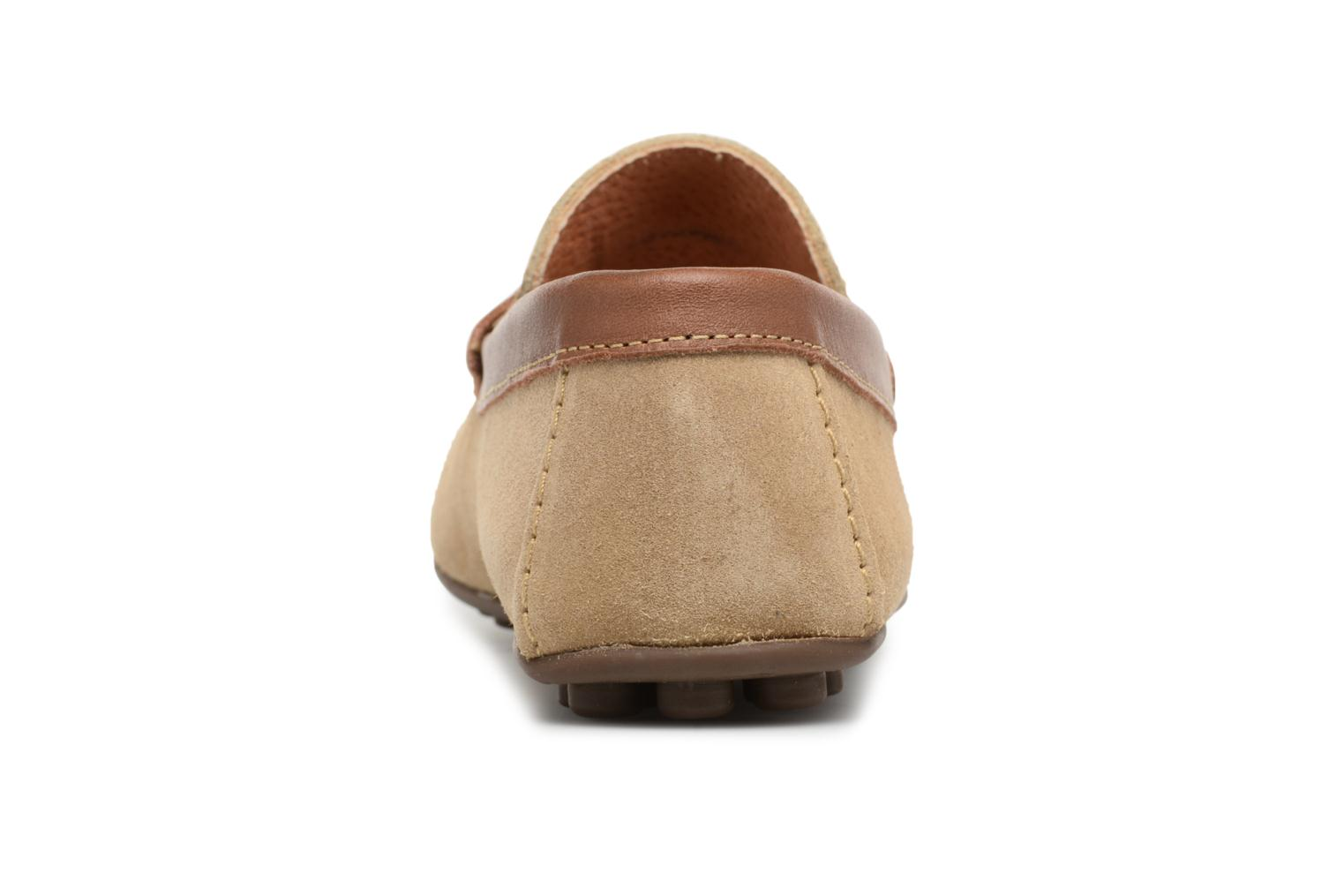 Loafers Marvin&co Scotland Beige view from the right