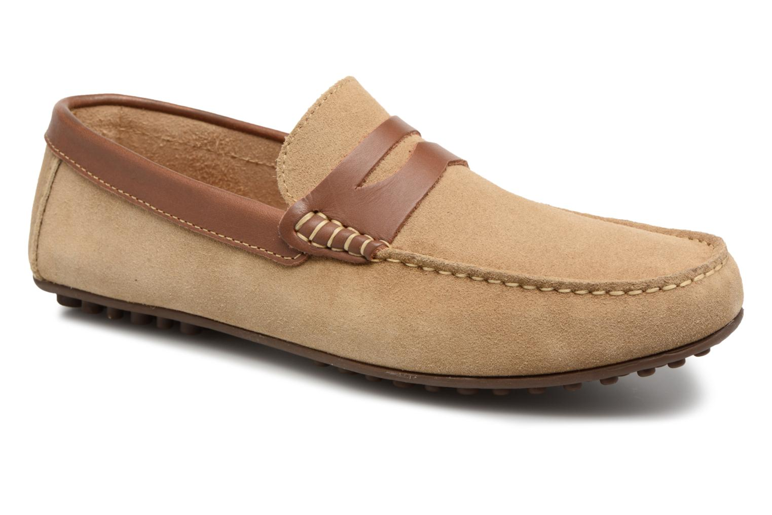 Loafers Marvin&co Scotland Beige detailed view/ Pair view
