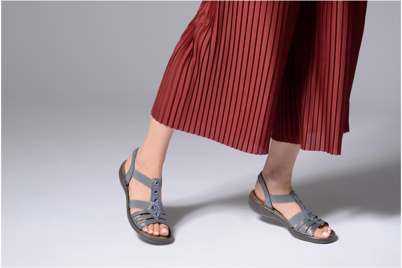 Sandaler Rieker Hana 60813 Blå se forneden