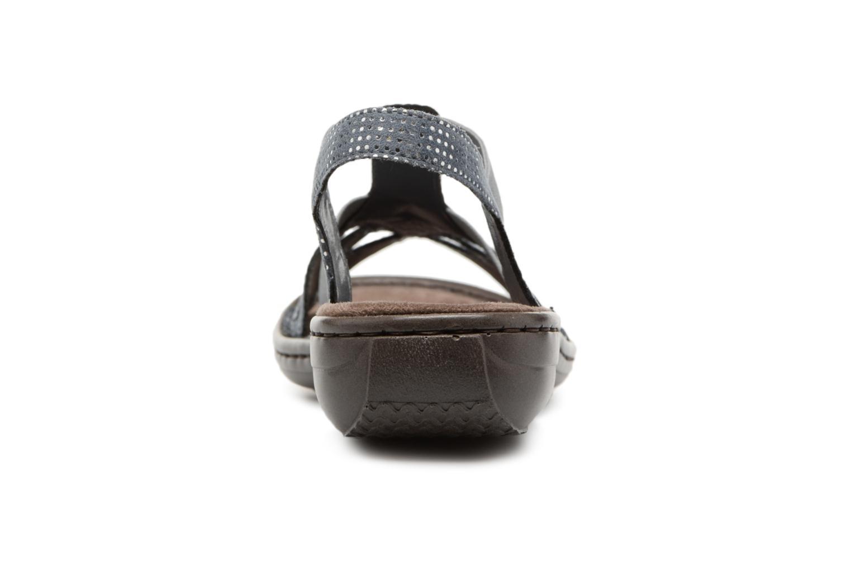 Sandaler Rieker Hana 60813 Blå Se fra højre