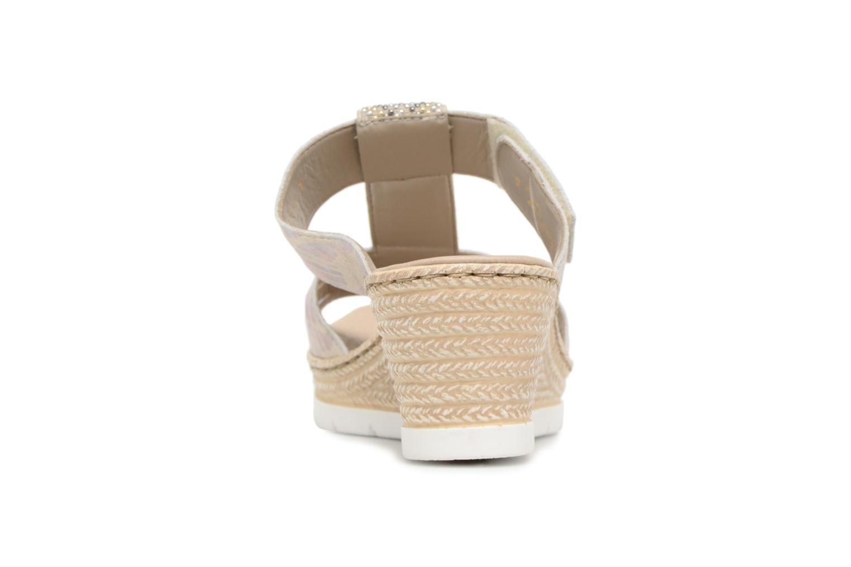 Grandes descuentos últimos zapatos Rieker Isabel 61924 (Beige) - Zuecos Descuento