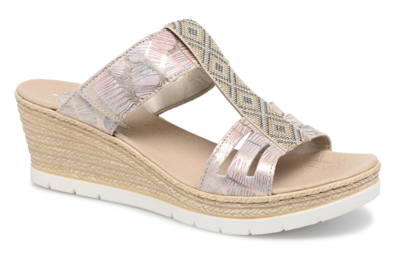 Zapatos promocionales Rieker Isabel 61924 (Beige) - Zuecos   Zapatos casuales salvajes