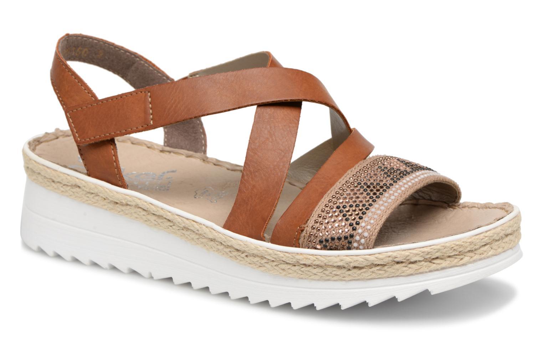 on sale c1d34 20692 Zapatos promocionales Rieker Rayna V3263 (Marrón) - Sandalias Los zapatos  más populares para hombres