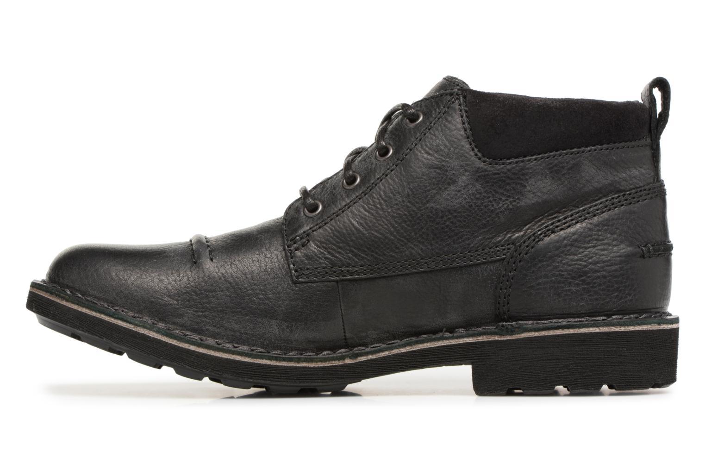Bottines et boots Clarks Lawes Top Noir vue face