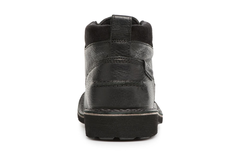 Bottines et boots Clarks Lawes Top Noir vue droite