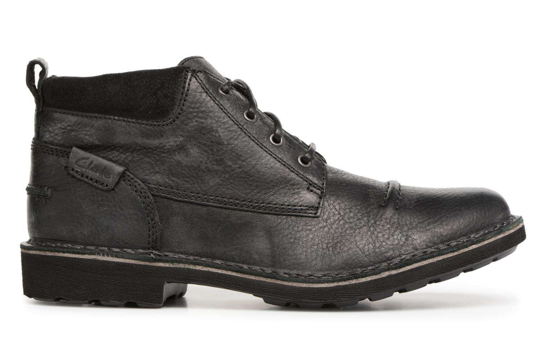 Bottines et boots Clarks Lawes Top Noir vue derrière
