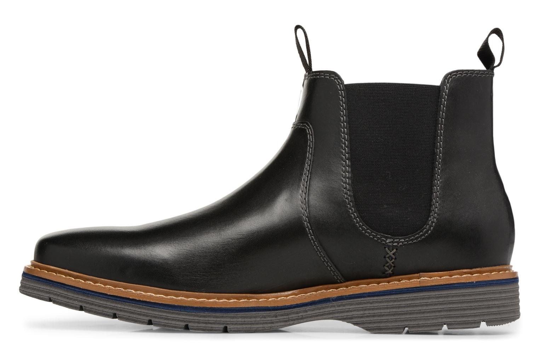 Bottines et boots Clarks Newkirk Hill Noir vue face