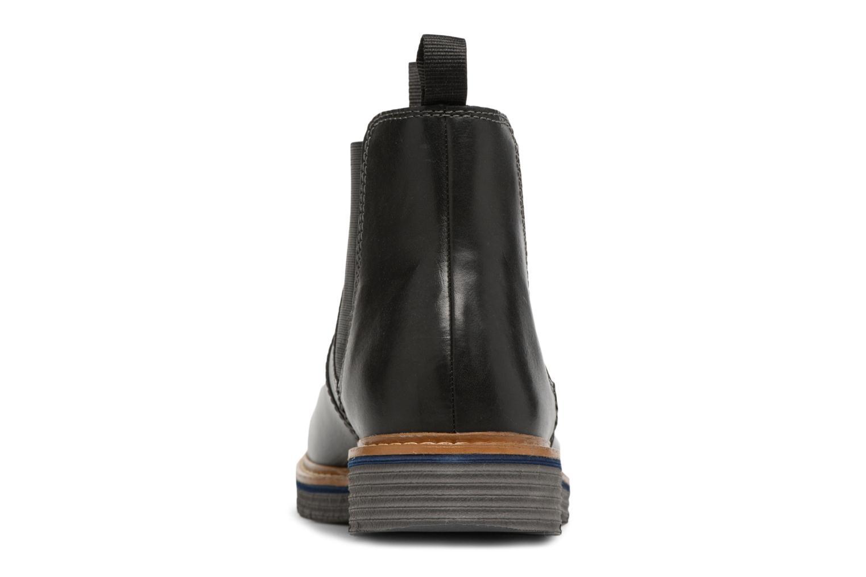 Bottines et boots Clarks Newkirk Hill Noir vue droite