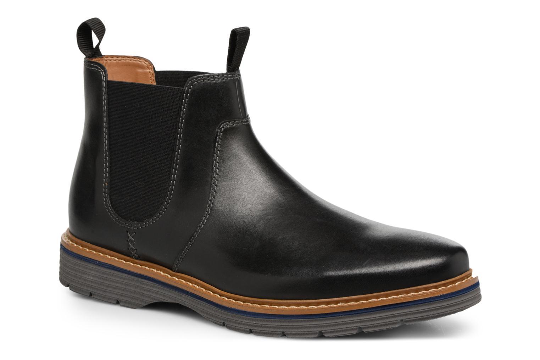 Bottines et boots Clarks Newkirk Hill Noir vue détail/paire