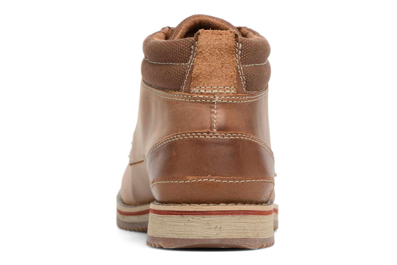 Boots en enkellaarsjes Clarks Katchur Top Bruin rechts