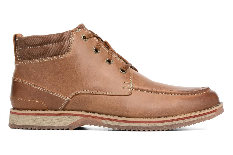 Boots en enkellaarsjes Clarks Katchur Top Bruin achterkant