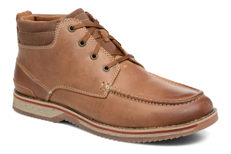 Bottines et boots Clarks Katchur Top Marron vue détail/paire
