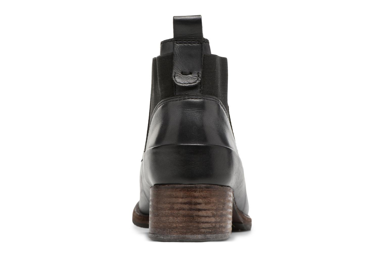 Bottines et boots Clarks Monica Pearl Gris vue droite