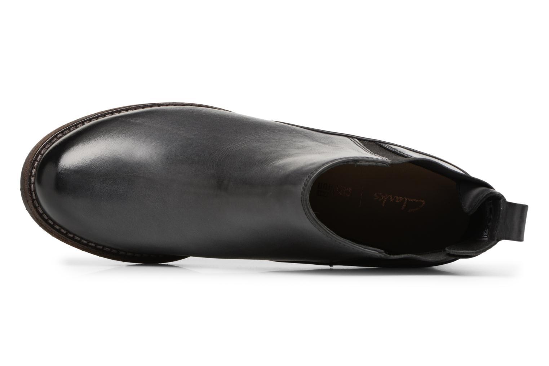 Bottines et boots Clarks Monica Pearl Gris vue gauche