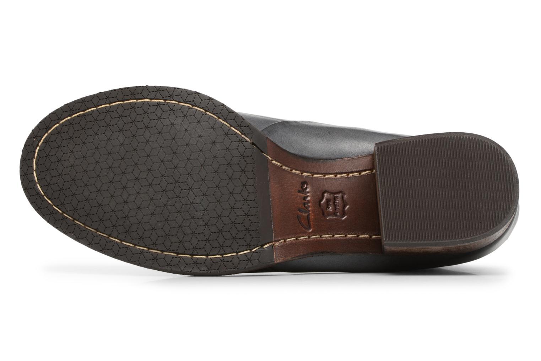 Bottines et boots Clarks Monica Pearl Gris vue haut