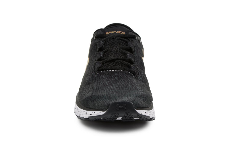 Chaussures de sport Under Armour UA Charged Bandit 3 Ombre Noir vue portées chaussures