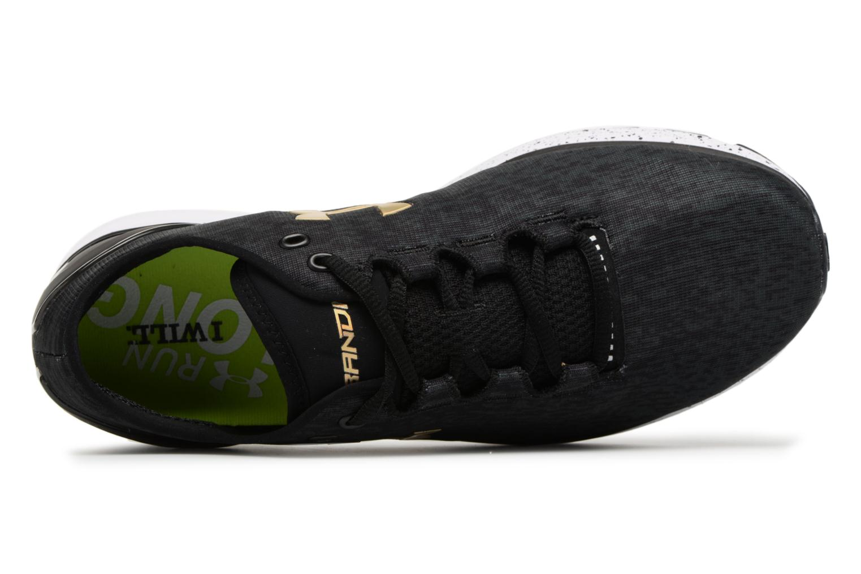 Chaussures de sport Under Armour UA Charged Bandit 3 Ombre Noir vue gauche