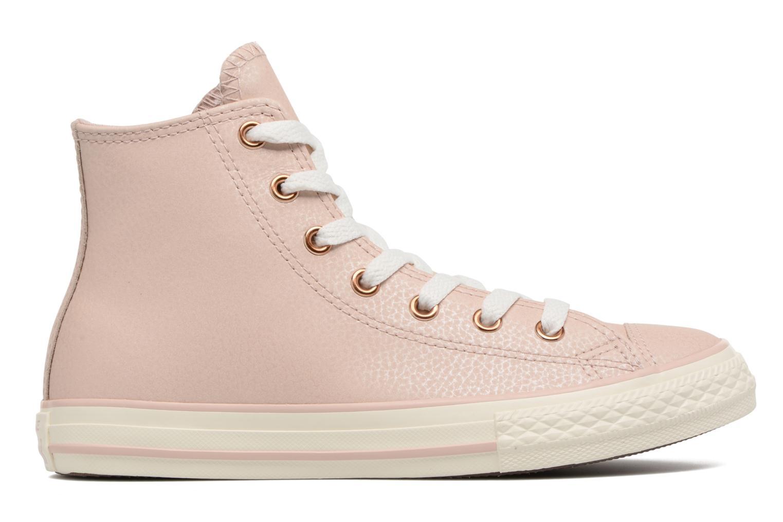 Baskets Converse Chuck Taylor All Star Hi Fashion Leather Beige vue derrière
