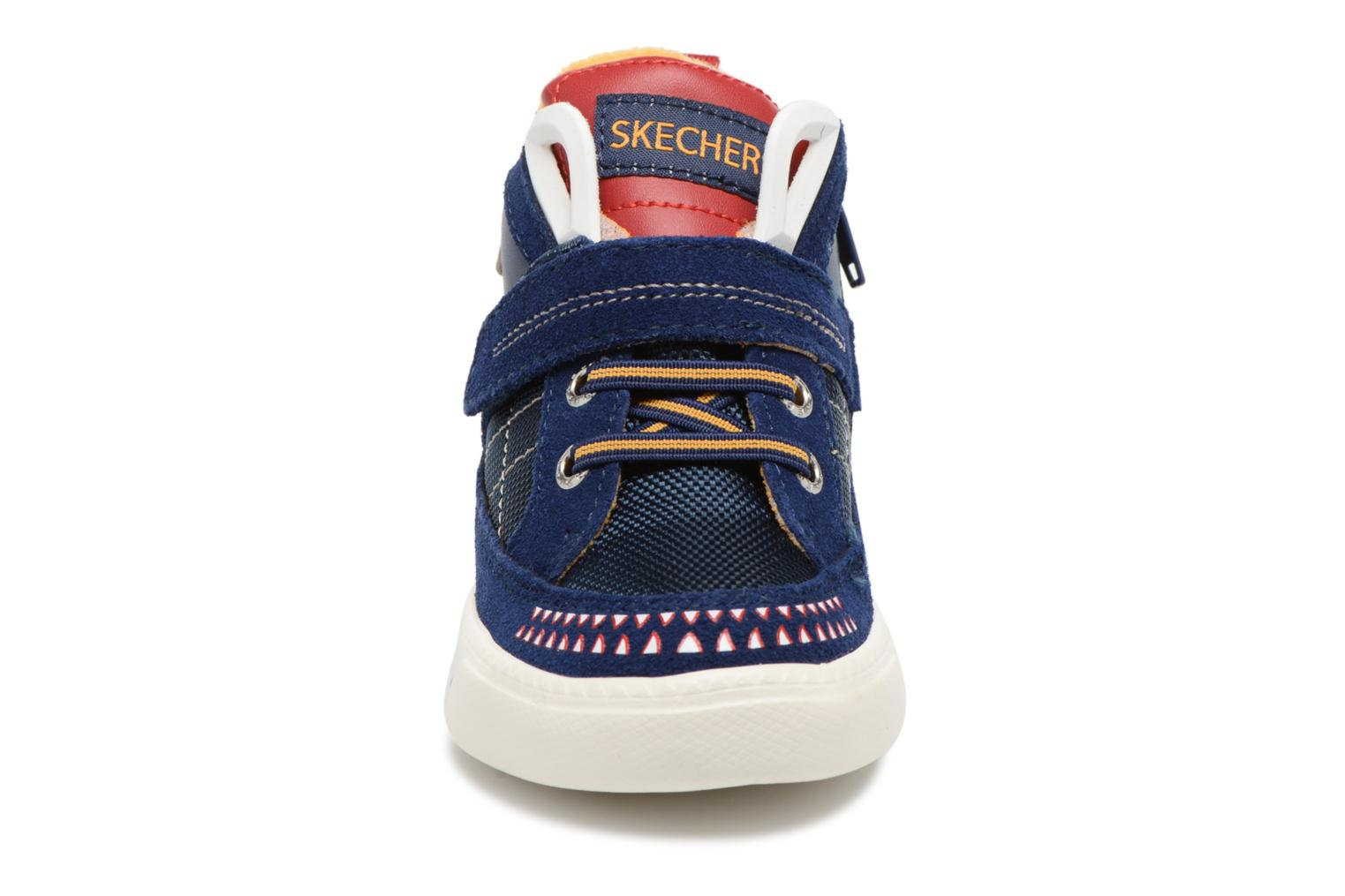 Trainers Skechers Lil Rad Monstroid Blue model view