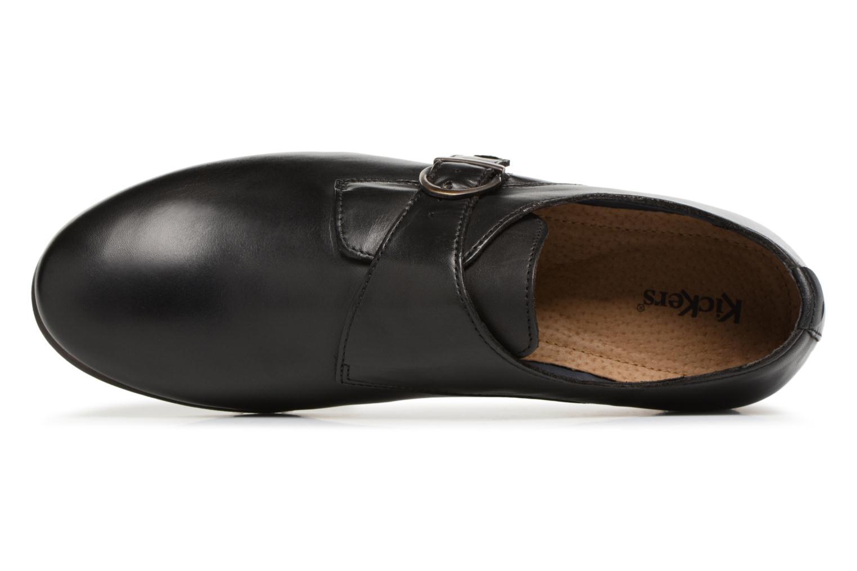 Chaussures à lacets Kickers GAMBETTA Noir vue gauche