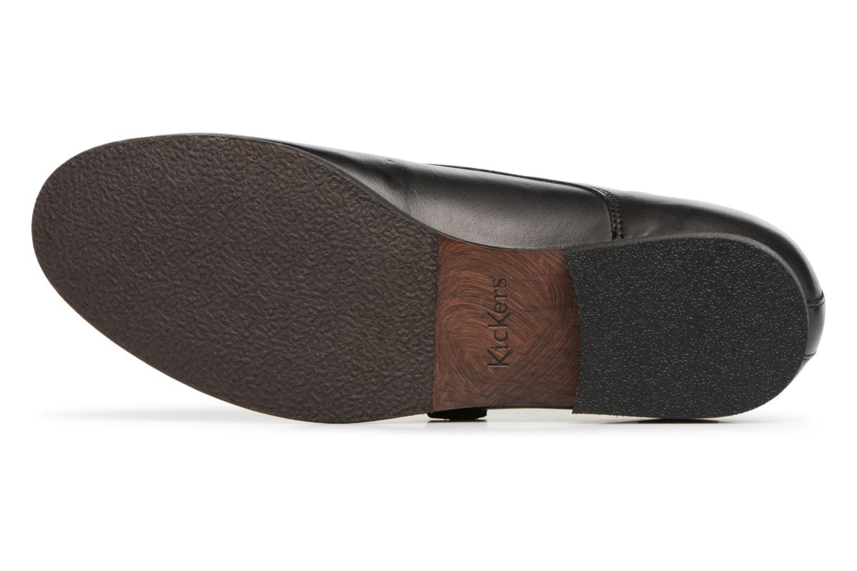 Chaussures à lacets Kickers GAMBETTA Noir vue haut