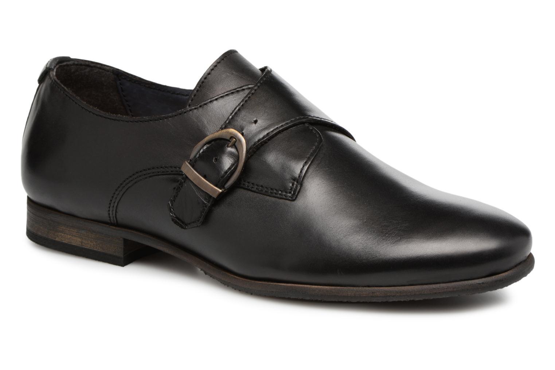 Grandes descuentos últimos zapatos Kickers GAMBETTA (Negro) - Zapatos con cordones Descuento