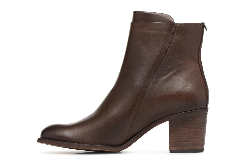 Bottines et boots Kickers JESSY Marron vue face