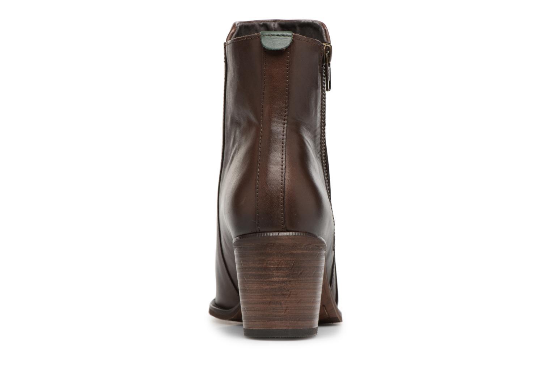 Bottines et boots Kickers JESSY Marron vue droite