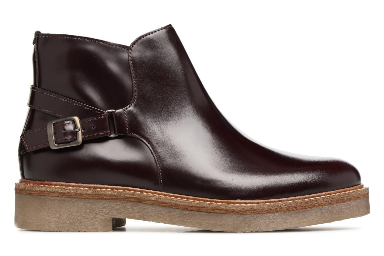 Bottines et boots Kickers OXIMORE Bordeaux vue derrière