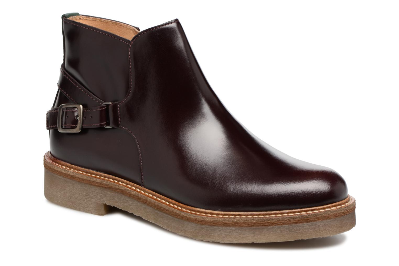 Bottines et boots Kickers OXIMORE Bordeaux vue détail/paire