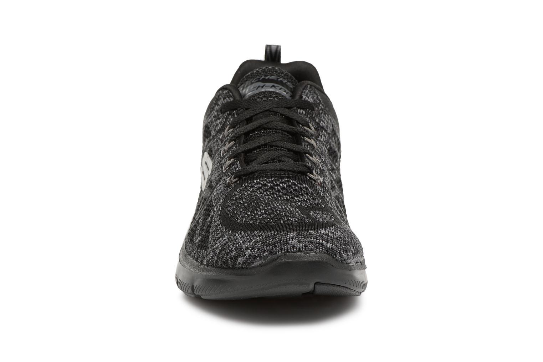 Chaussures de sport Skechers Flex Appeal 2,0 New Gem Noir vue portées chaussures