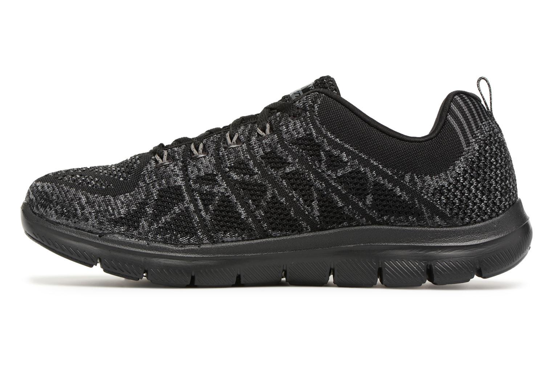 Chaussures de sport Skechers Flex Appeal 2,0 New Gem Noir vue face