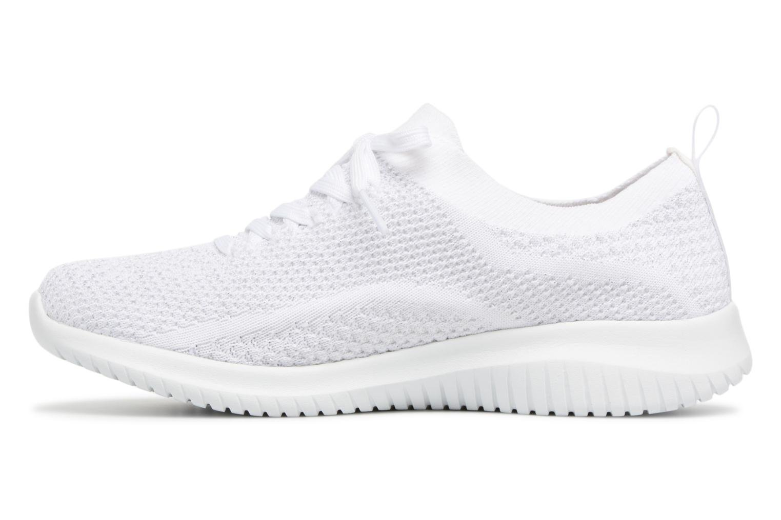 Zapatillas de deporte Skechers Ultra Flex Salutations Blanco vista de frente
