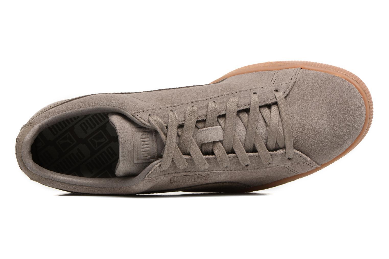 Sneaker Puma SUEDE C ORGANIC WARM braun ansicht von links