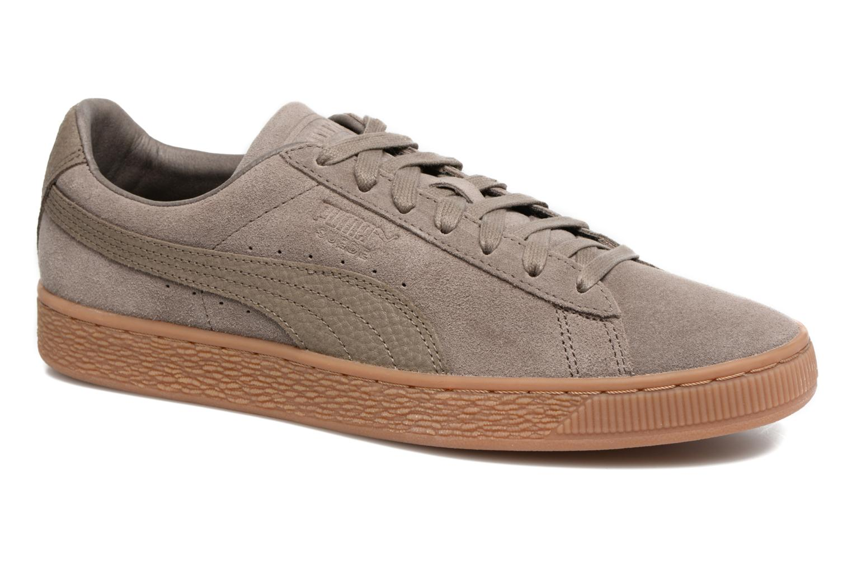 Sneaker Puma SUEDE C ORGANIC WARM braun detaillierte ansicht/modell