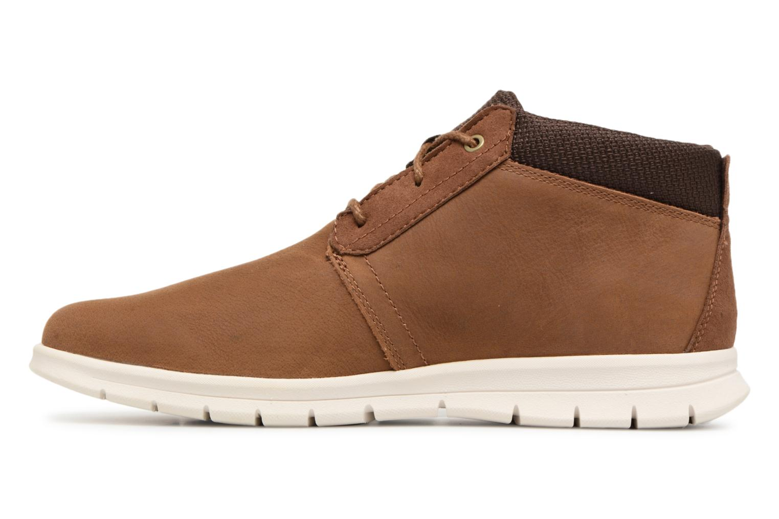 Bottines et boots Timberland Graydon Leather Mid WR Marron vue face