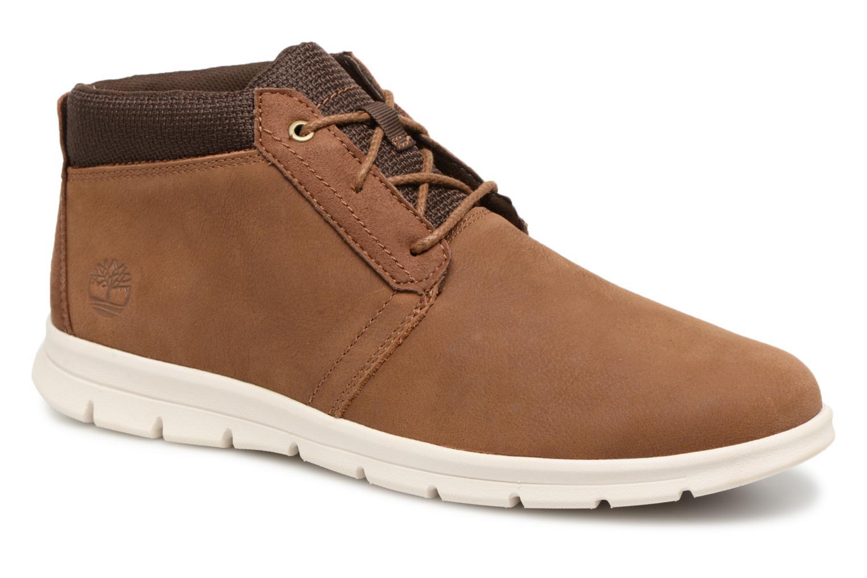Bottines et boots Timberland Graydon Leather Mid WR Marron vue détail/paire
