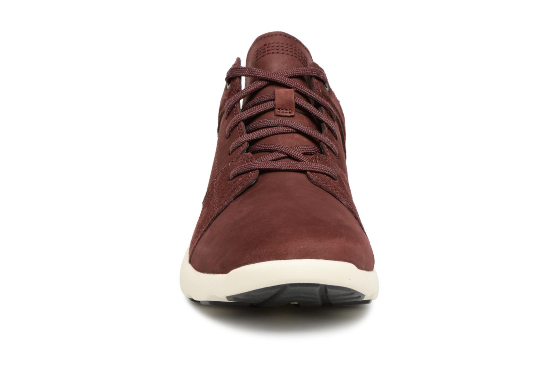 Baskets Timberland Flyroam Rouge vue portées chaussures