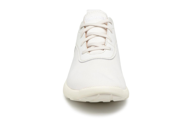 Sneaker Timberland Flyroam F/L Oxford grau schuhe getragen