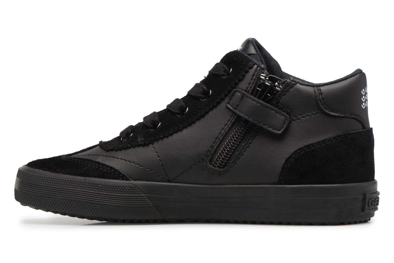 Sneaker Geox J ALONISSO B schwarz ansicht von vorne