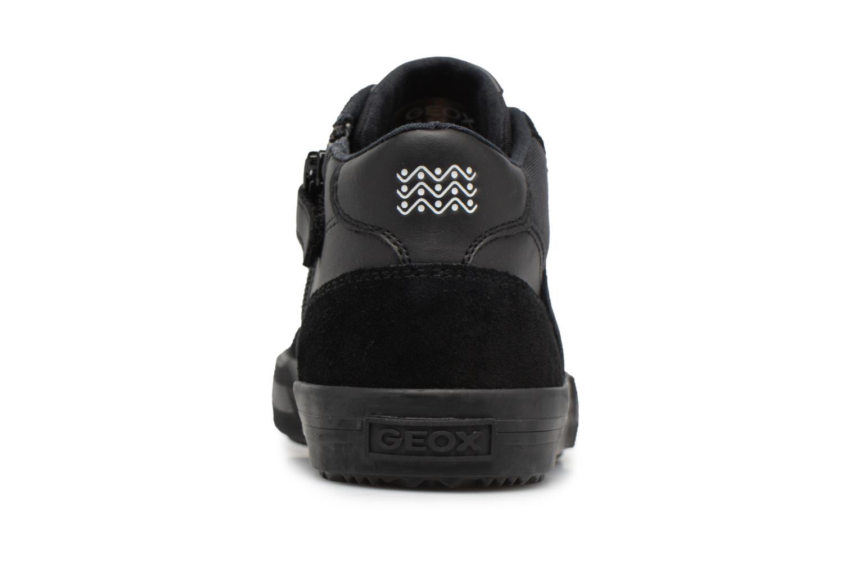 Sneaker Geox J ALONISSO B schwarz ansicht von rechts
